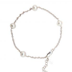 91 vintage pearl bracelet white